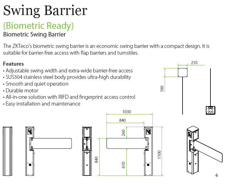 swing-barrier