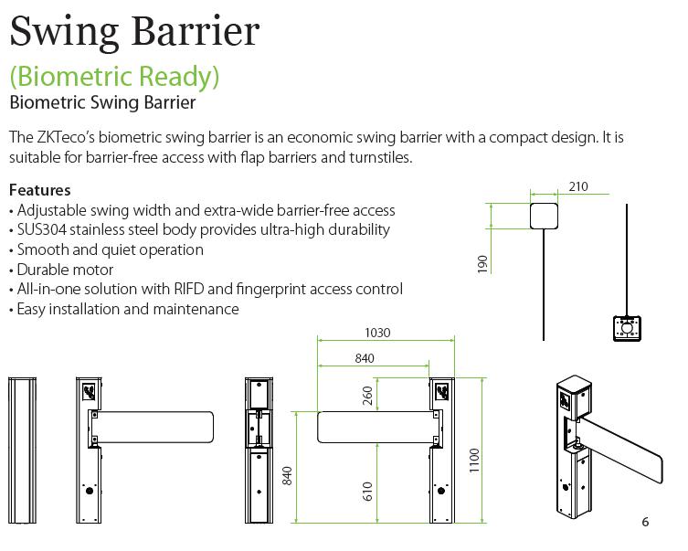 swing-barrier