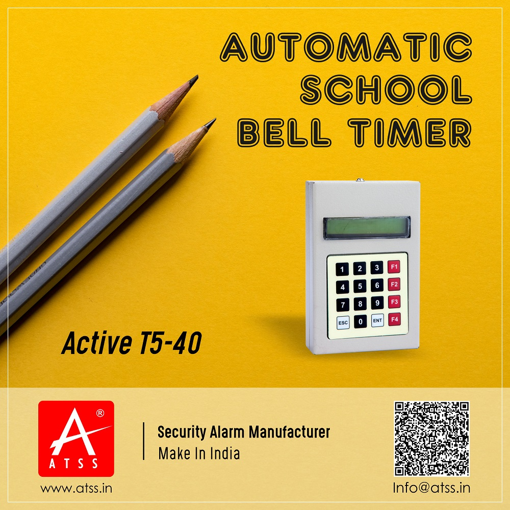 School Timer, College Timer, Factory Timer, School Bell Timer Chennai India