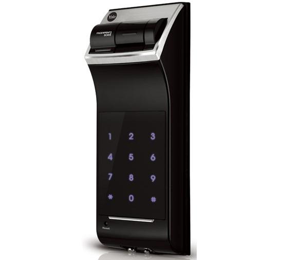 Yale Fingerprint Door Lock Ydr4110 Biometric Lock Rim