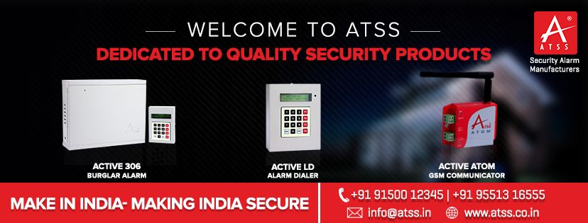 Burglar Alarm Systems Chennai India.
